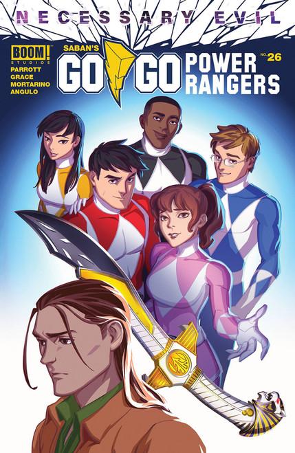 Boom Studios Go Go Power Rangers #26 Necessary Evil Comic Book