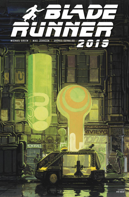 Titan Comics Blade Runner 2019 #5 Comic Book [Syd Mead Cover B]