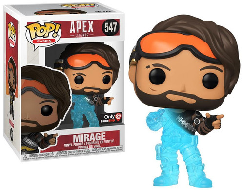 Funko Apex Legends POP! Games Mirage Exclusive Vinyl Figure #547 [Hologram]