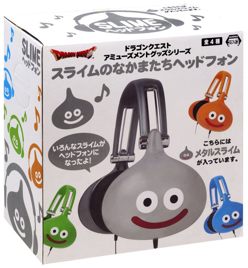 Dragon Quest Slime Headphones [Gray]
