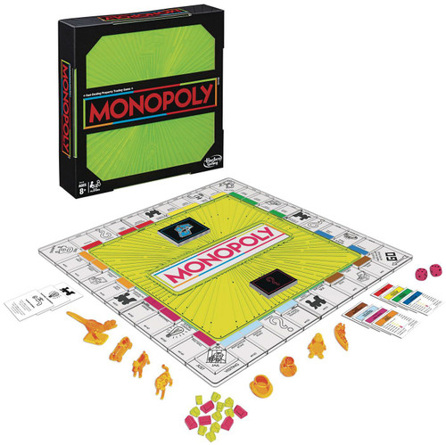 Monopoly Neon Pop Edition Board Game (Pre-Order ships April)