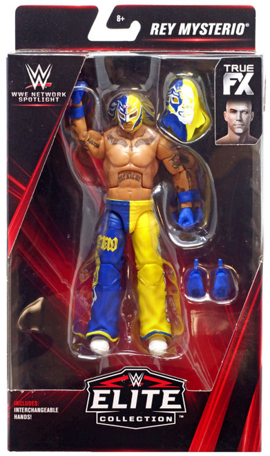 WWE Wrestling Elite Network Spotlight Rey Mysterio Exclusive Action Figure