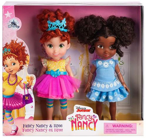 Disney Junior Fancy Nancy Nancy & Bree Exclusive 10-Inch Doll 2-Pack
