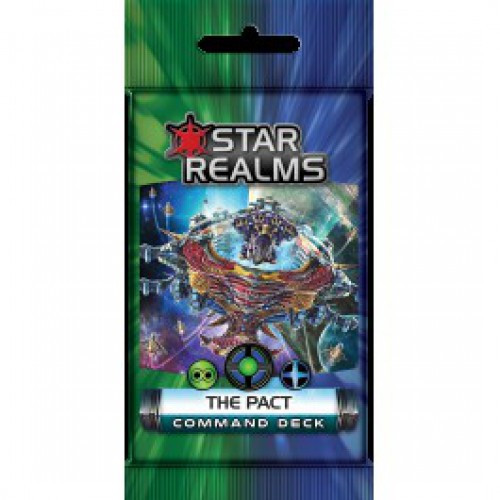 Star Realms Command Deck The Pact Deckbuilding Game Pack