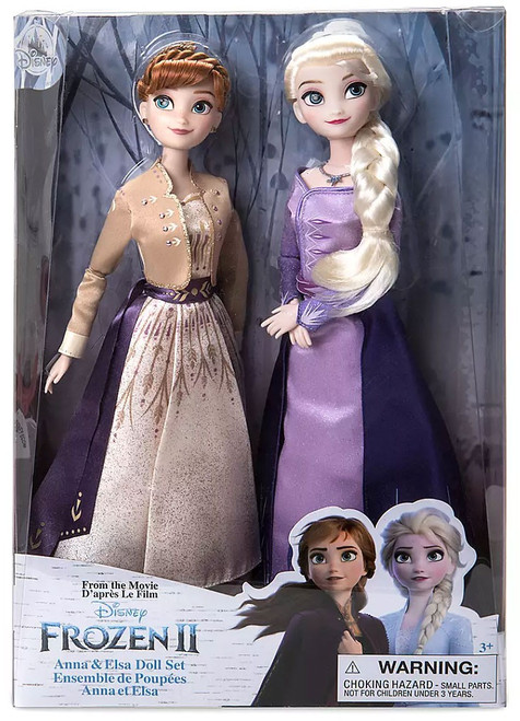 Disney Frozen 2 Anna & Elsa Exclusive 11.5-Inch Doll 2-Pack