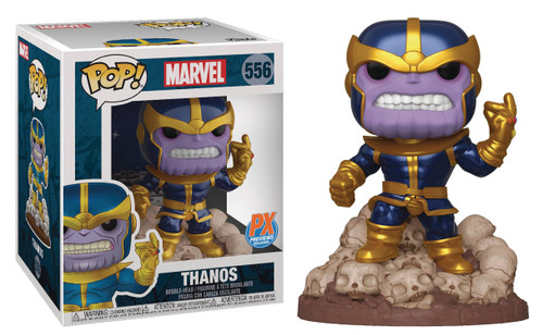 Funko POP! Marvel Thanos Exclusive 6-Inch Vinyl Bobble Head #556 [Comic Version, Super-Sized]