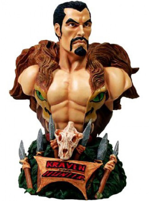 Spider-Man Rogues' Gallery Kraven the Hunter Bust