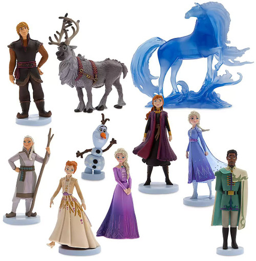 Disney Frozen 2 Frozen 2 Exclusive 10-Piece PVC Figure Play Set