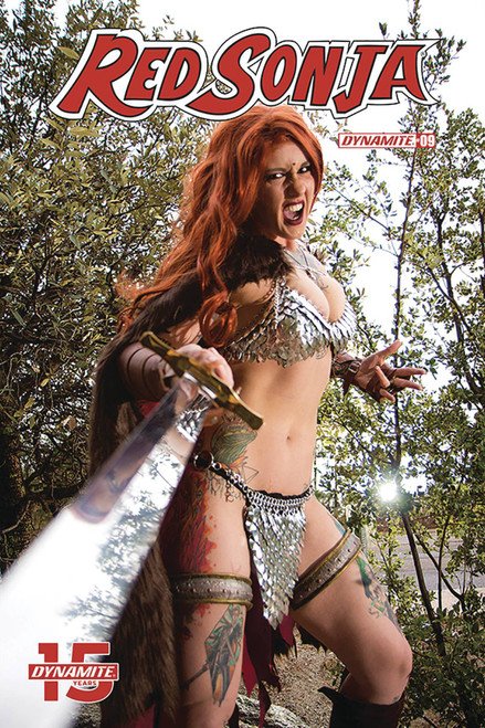 Dynamite Entertainment Red Sonja #9 Comic Book [Cosplay Cover E]