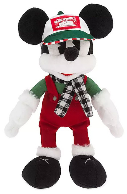 Disney 2019 Holiday Mickey Mouse Exclusive 13-Inch Plush