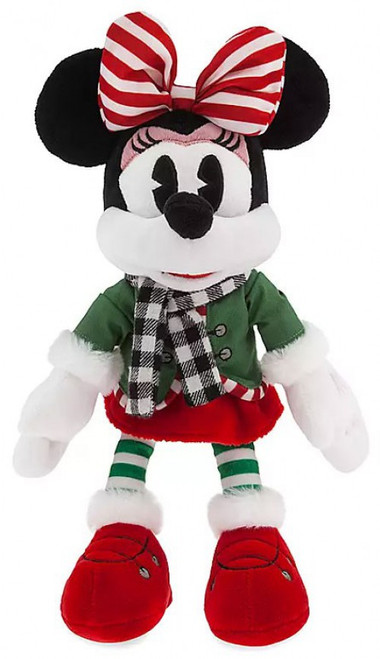 Disney 2019 Holiday Minnie Mouse Exclusive 13-Inch Plush [Green Jacket]
