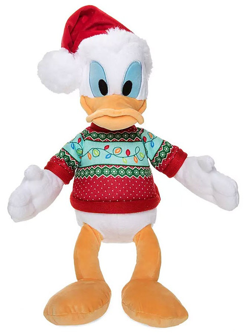 Disney 2019 Holiday Donald Duck Exclusive 15-Inch Plush