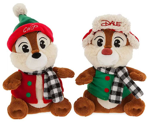 Disney 2019 Holiday Chip & Dale Exclusive 8-Inch Plush
