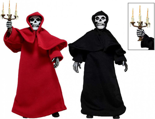 NECA Misfits The Fiends Set of Both Clothed Action Figures [Red & Black Robes]