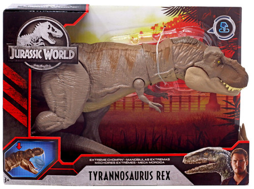 Jurassic World Extreme Chompin' Tyrannosaurus Rex Action Figure