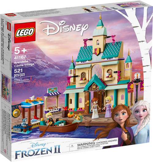 LEGO Disney Princess Disney Frozen 2 Arendelle Castle Village Set #41167