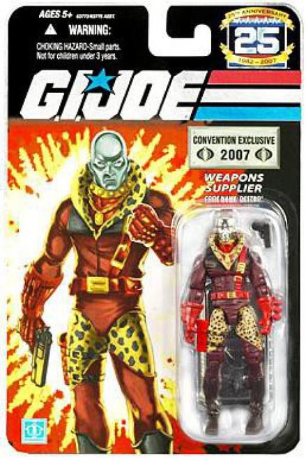 GI Joe 25th Anniversary Leopard Print Destro Exclusive Action Figure [Silver Head]