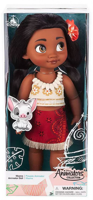 Disney Moana Animators' Collection Moana Exclusive 16-Inch Doll [Tapa Print Top and Sarong]