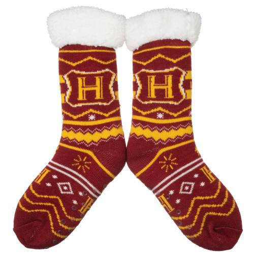 Harry Potter Hogwarts Cozy Slipper Socks (Pre-Order ships January)