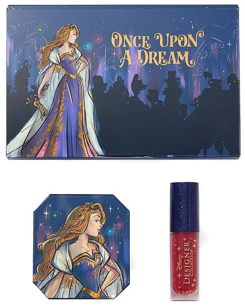 Disney Designer Collection Midnight Masquerade ColourPop Once Upon a Dream Aurora Bundle Exclusive Makeup Set