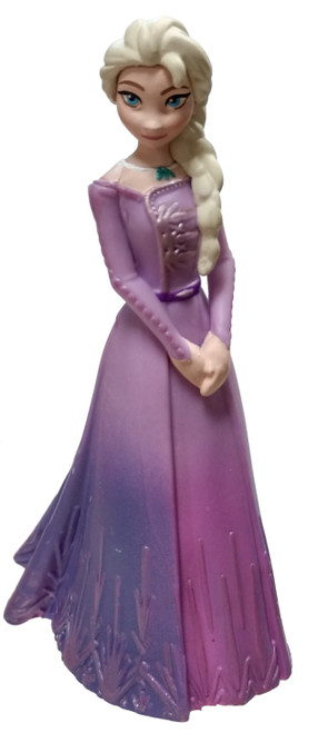 Disney Frozen 2 Elsa 3.5-Inch PVC Figure [Purple Gown Loose]