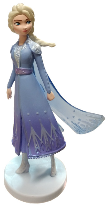 Disney Frozen 2 Elsa 4-Inch PVC Figure [Blue Dress Loose]