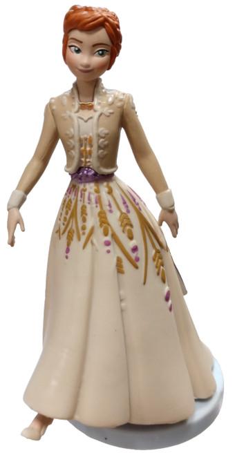 Disney Frozen 2 Anna 4-Inch PVC Figure [Gown Loose]