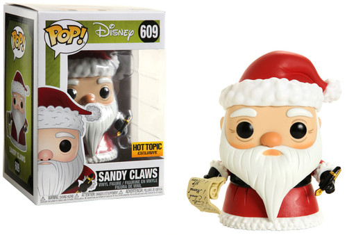 Funko Nightmare Before Christmas POP! Disney Sandy Claws Exclusive Vinyl Figure #609 [Nightmare Box]