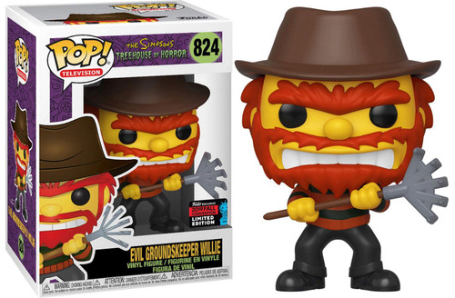 Funko The Simpsons Treehouse of Horror POP! Animation Evil Groundskeeper Willie Exclusive Vinyl Figure #824