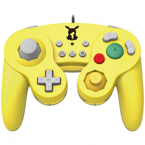 Nintendo Pokemon Switch Pikachu GameCube-Style Switch Battle Pad Wired Controller