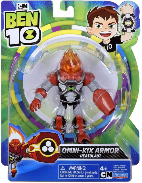Ben 10 Omni-Kix Armor Heatblast Action Figure