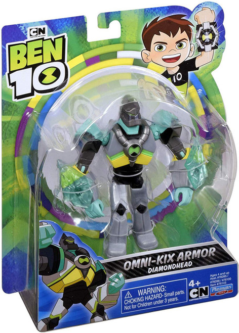 Ben 10 Omni-Kix Armor Diamondhead Action Figure