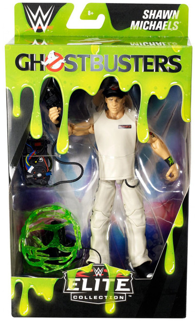 WWE Wrestling Elite Collection Ghostbusters Shawn Michaels Exclusive Action Figure
