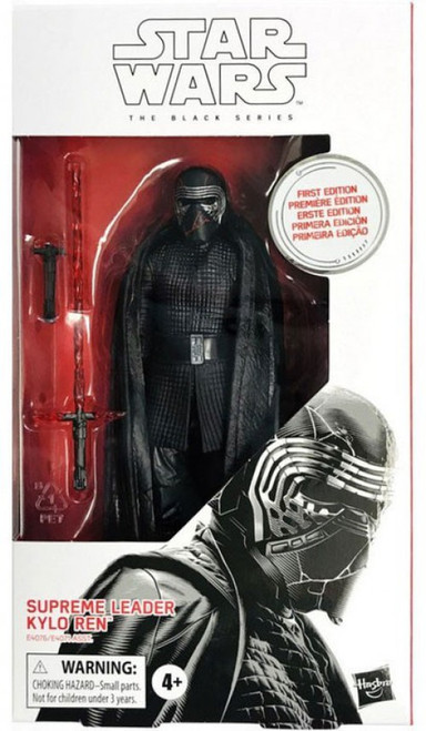 Star Wars The Rise of Skywalker Black Series Wave 33 Supreme Leader Kylo Ren Action Figure [First Edition]