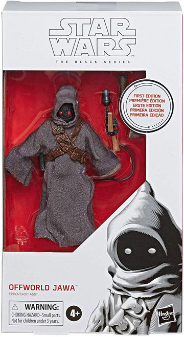 Star Wars The Mandalorian Black Series Wave 33 Offworld Jawa Action Figure [First Edition]