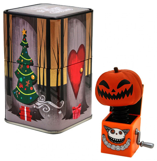 Funko The Nightmare Before Christmas Pumpkin Jack-in-the-Box Exclusive Mystery Mini Figure Tin [Nightmare Box]