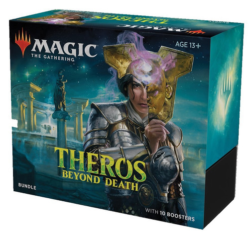 MtG Trading Card Game Theros Beyond Death Bundle [Includes 10 Booster Packs!]