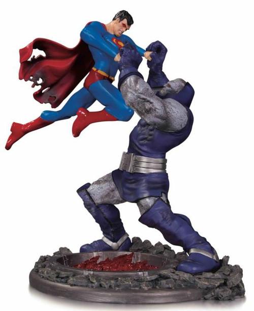 DC Superman Vs. Darkseid 12.4-Inch Battle Statue (Pre-Order ships November)
