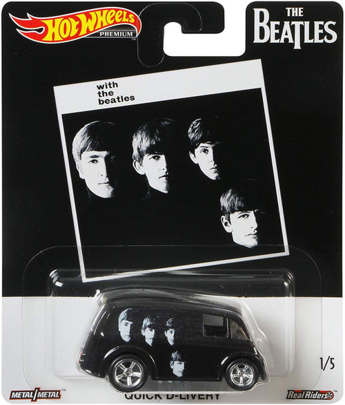 Hot Wheels With The Beatles Die-Cast Car #1/5 [Quick D-Livery]