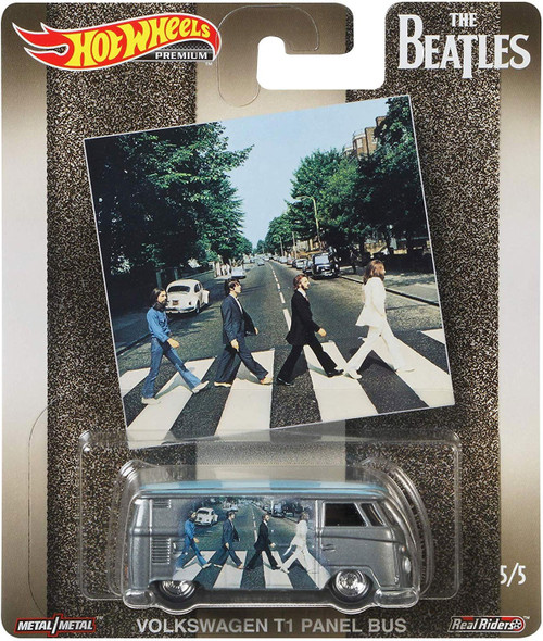 Hot Wheels The Beatles Abbey Road Diecast Car #5/5 [Volkswagen T1 Panel Bus]