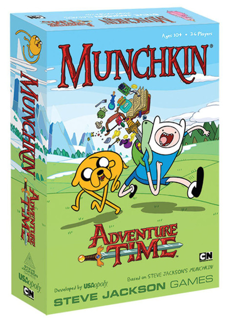 Munchkin Adventure Time Card Game [Damaged Package]