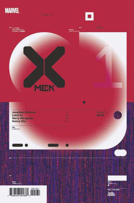 Marvel Comics X-Men #1 Comic Book [Tom Muller Variant Cover]