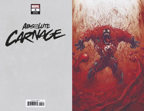 Marvel Comics Absolute Carnage #4 Comic Book [Ryan Stegman Virgin Variant Cover]
