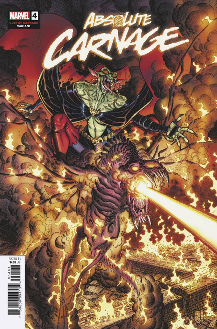 Marvel Comics Absolute Carnage #4 Comic Book [Nick Bradshaw Variant Cover]