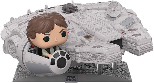 Funko POP! Star Wars Han Solo in the Millennium Falcon Exclusive Vinyl Bobble Head #321