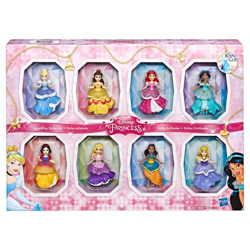 Disney Princess Small Doll Collection Exclusive Doll 8-Pack