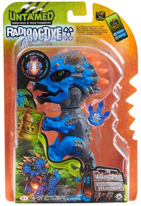 Fingerlings Untamed Dinosaur Radioactive Whiplash the Triceratops Figure