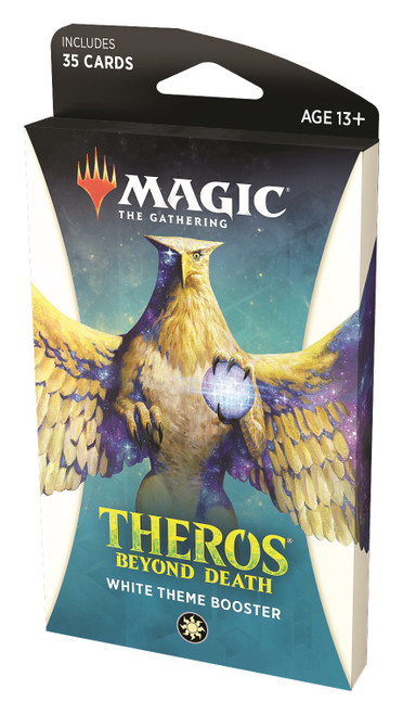 MtG Trading Card Game Theros Beyond Death White Theme Booster