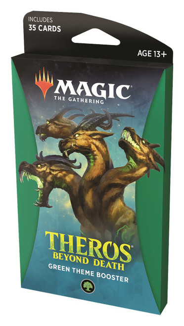 MtG Trading Card Game Theros Beyond Death Green Theme Booster