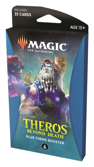 MtG Trading Card Game Theros Beyond Death Blue Theme Booster